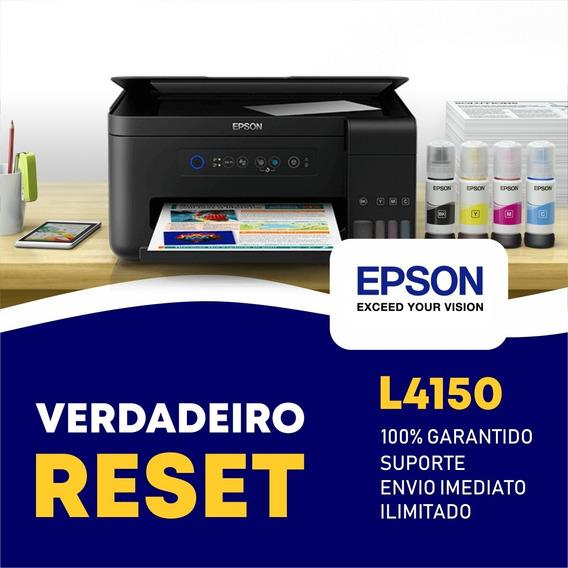 Reset Epson L4150 - Verdadeiro Reset Epson