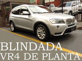Bmw X3 2013 Blindada Vr4 De Planta Blindaje Blindados