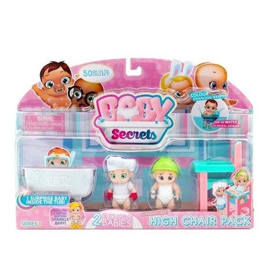Baby Secret Kit Tema Cozinheiro Cadeira Alta Candide