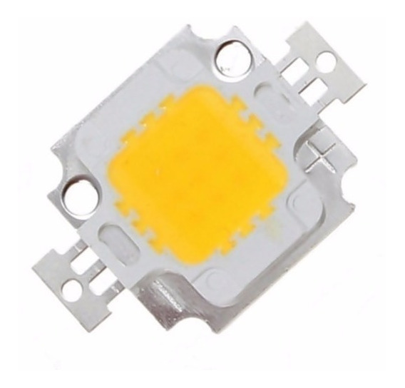 Kit Led Chip 10w 12v Aquário Refletor 10 Unidades Promoção!