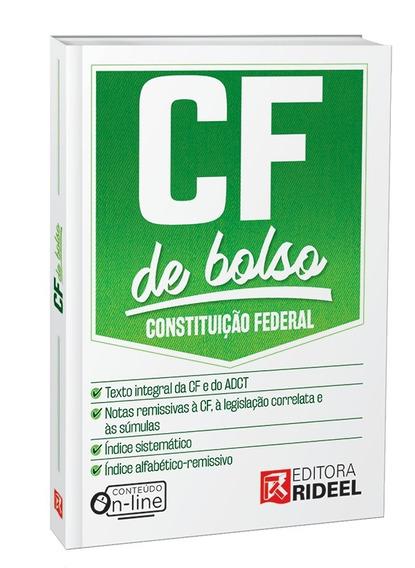 Constituição Federal Cf De Bolso 2019
