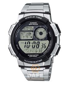 Relógio Casio Ae-1000w Original Digital Metal C/caixa E Nf