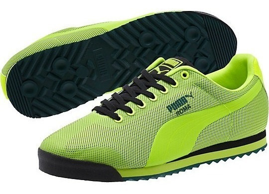 Tenis Puma Roma Hm Safety Yellow Caballero 361165