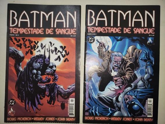 Batman Tempestade De Sangue 1 E 2 Completa Mythos 2001