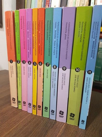 Fundamentos De Matemática Elementar 3 Volumes