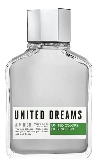 United Dreams Aim High Benetton - Perfume Masculino - Eau De Toilette 200ml