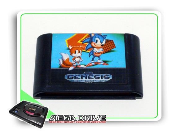 Sonic The Hedgehog 2 Original Sega Genesis - Mega Drive