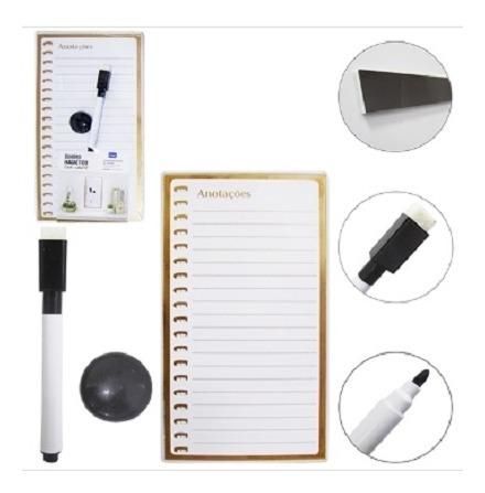 Quadro Branco Lousa Magnetico Organizador Planejamento Metas