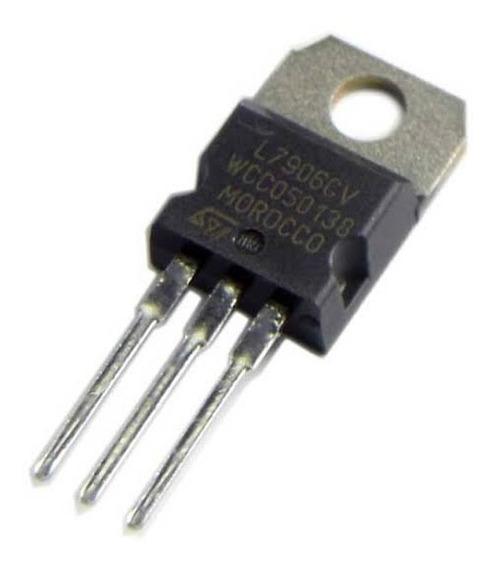 Pct. Com 5 Un. Regulador De Tensão 7906 6v Negativo Lm 7906
