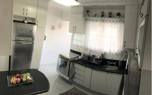 Apartamento Com 3 Dormitórios À Venda, 98 M² Por R$ 435.000 - Jardim Stella - Santo André/sp - Ap9530