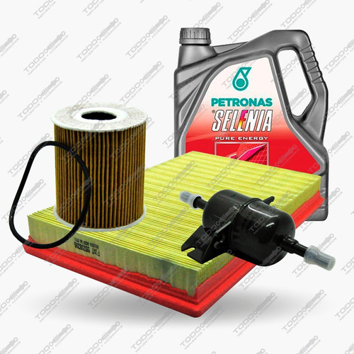 Kit 3 Filtros + Aceite Selenia Fiat Punto 1.4 Original