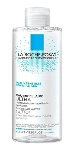 Solução Micelar Demaquilante Ultra La Roche-posay 400ml