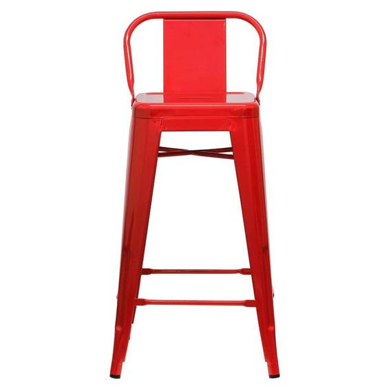 Piso Taburete Form Design 76 Cm Tolix C/resp Rojo