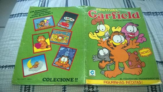 Album Festival Garfield - Incompleto