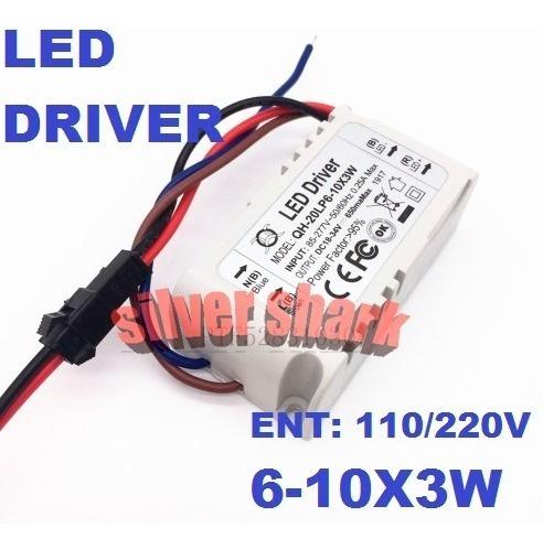 Fonte Driver Drive P/ 6 A 10 Leds 3w 110v / 220v
