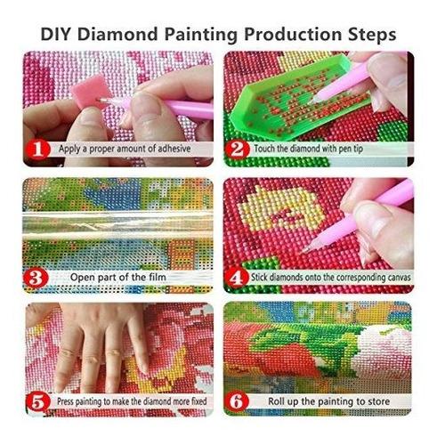 para decoraci/ón de pared del hogar Cielo nocturno 30cm x 40cm DIY 5D Kit de Pintura de Diamante bordado de cristales DIY 5D Pintura diamante por Kit