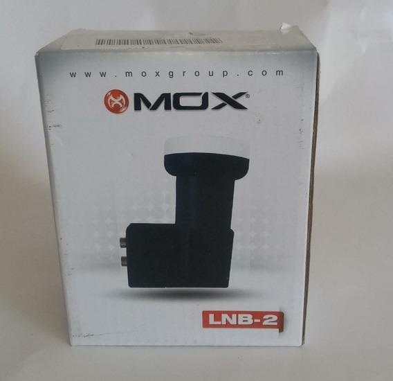 Lnb Duplo 2 Saidas Mox 0.1db Ganho 60db Original Na Caixa