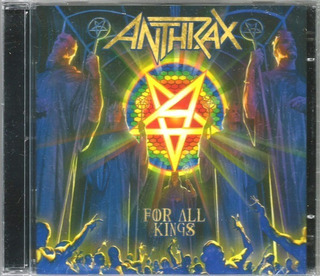 Cd Anthrax - For All Kings Cd Duplo