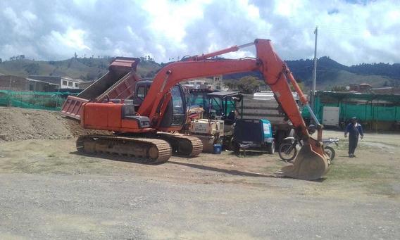 Excavadora Hitachi Zx120 Venta Y Alquiler