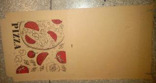 Cajas Para Pizza 40x40 Cartón Corrugado