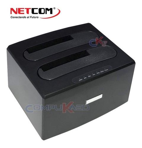 Docking Stations Netcom Usb 3.0 Para 2.5 3.5 Y Solidos Clona