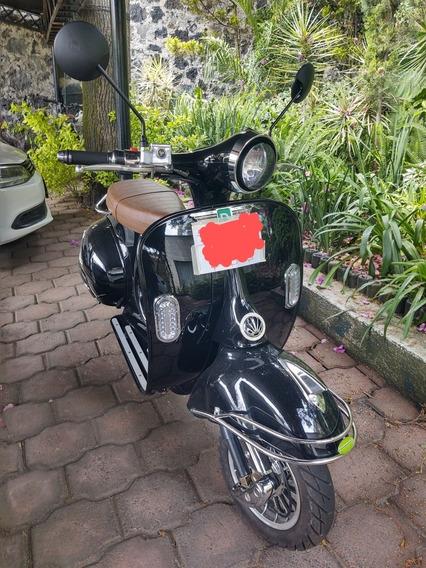 Dendou Moto Eléctric Scooter Retro Es3000