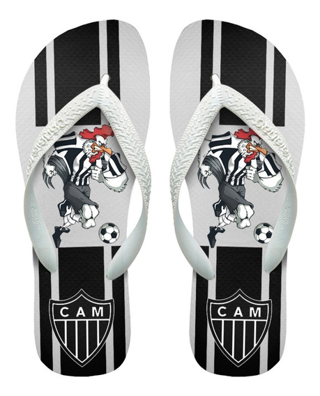 Chinelos Havaianas Personalizados Atlético Mineiro [2]