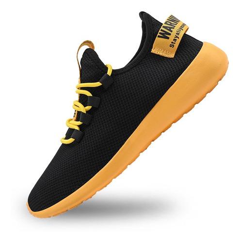 Imagen 1 de 8 de Zapatos Para Correr Transpirables Ligeros Para Hombre