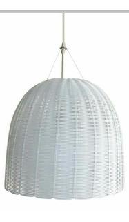 Lámparas En Mimbre Y Rattan Sintetico 35 X 35 Cm