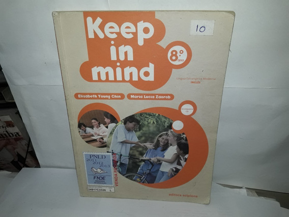 Livro Keep In Mind 8°ano Elizabeth Young Chin + Cd