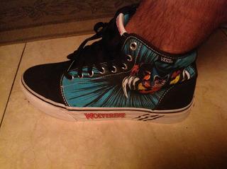 Zapatillas Vans Marvel Talle 42 1/2