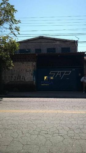 Galpão Para Venda, 229 M² - Cidade Serodio - Guarulhos/sp - Ga0657