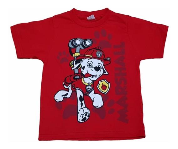 Kit 6 Camiseta Infantil Masculina Patrulha Promoção