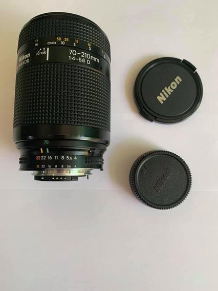 Lente Nikon 70-210 1:4-5.6d Frete Grátis 12x Sem Juros!