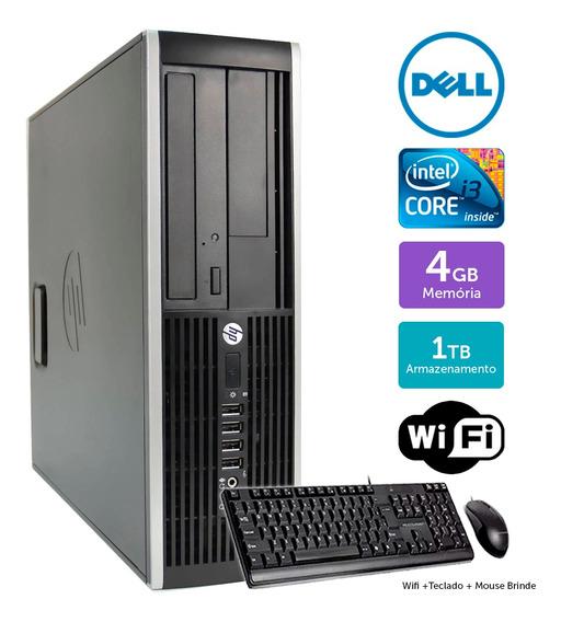 Desktop Barato Hp Compaq 8200sff I3 4gb 1tb Brinde