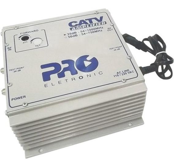 Amplificador Potência Pqap-6350 Proeletronic 35 Db Bivolt