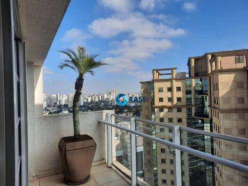 Imagem 1 de 30 de Apartamento Com 1 Dormitório Para Alugar, 50 M² Por R$ 2.600/mês - Moema - São Paulo/sp - Ap13218