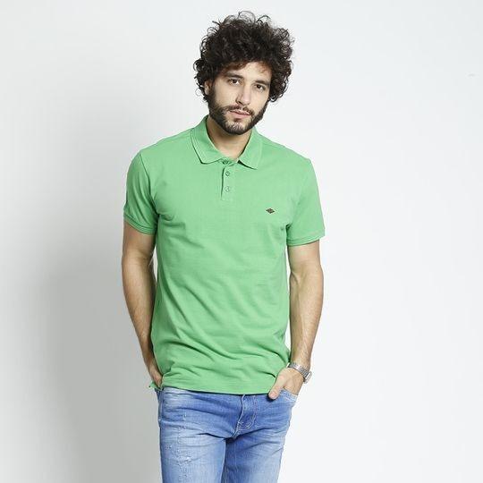 Camisa Polo Em Piquê Verde - Triton - Promoção Dia Dos Pais