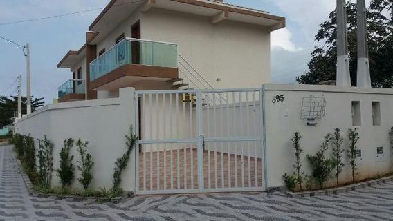 Casa De Esquina Com 2 Quartos Em Itanhaém-sp 4507-pc