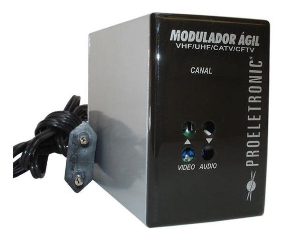 Modulador Agil Proeletronic Pqmo 2600 Catv Uhf Vhf Full