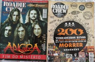 Revista Roadie Crew - 3 Edições -123, 133 E Edição Especial