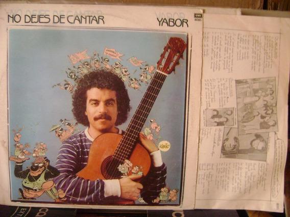 Yabor No Dejes De Cantar Tabare Dibujos Discos De Vinilo L