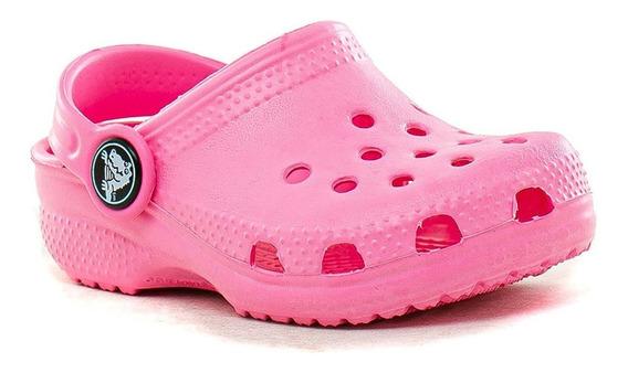 Sandalias Classic Kids Crocs Niños Zapato De Goma Originales