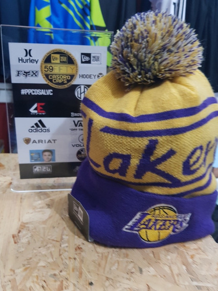 Gorro Beanie Lakers New Era Original