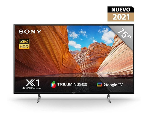 Imagen 1 de 10 de Smart Tv Google Tv 75  4k Ultra Hd Android