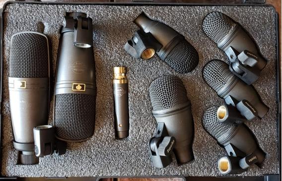 Kit De 8 Microfones Superlux Drk F5 H3 - Frete Grátis
