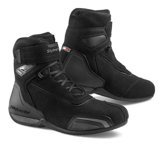 Botas Para Motociclista Stylmartin Velox Antracite Negro