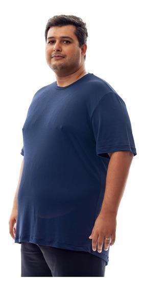 Kit 2 Camisetas Plus Size Dry Fit Poliamida Corrida Academia