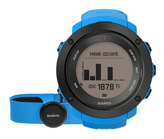 Reloj Multifuncional Deportivo Ambit3 V Azul Suunto
