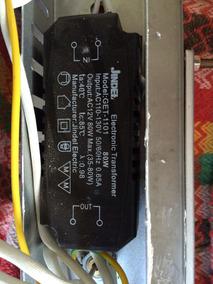 Transformador Eletronico 80 W P/ Luminária 110 V. Para 12 V.